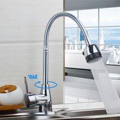 36.19$  Buy here - https://alitems.com/g/1e8d114494b01f4c715516525dc3e8/?i=5&ulp=https%3A%2F%2Fwww.aliexpress.com%2Fitem%2FEpak-Flexible-Chrome-Brass-Two-Spout-Kitchen-Faucet-360-Swivel-Spout-Sink-Tap-New-Mixer-Tap%2F32707735497.html - Epak Flexible Chrome Brass Two Spout Kitchen Faucet 360 Swivel Spout Sink Tap New Mixer Tap 36.19$
