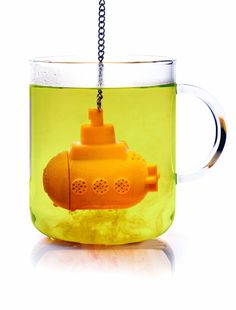 Want To Submerge Your Tea In A Yellow Submarine?  ... see more at InventorSpot.com