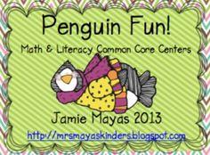 Penguin Math & Literacy Unit