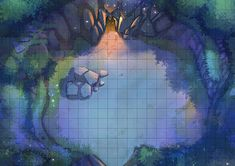 Party of Two is creating an RPG map library for DnD and other Tabletops Dnd Dragons, D&d Dungeons And Dragons, Dungeon Tiles, Dungeon Maps, Warhammer Fantasy, Fantasy Rpg, Fantasy Map Maker, Isometric Map, Rpg Map