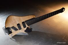 Curly Maple Eight String Guitar
