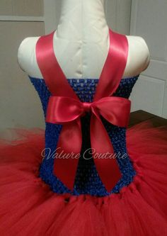 Superman Super Girl Inspired Tutu Dress by ValureCouture