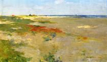 On the Suffolk Coast - Willard Metcalf