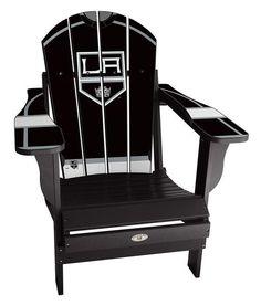 Custom LA Kings folding chair available on our website! #nhl #la #kings #hockey