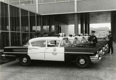 The Los Angeles Police Department used the 1958 Chevy Delray patrol cars