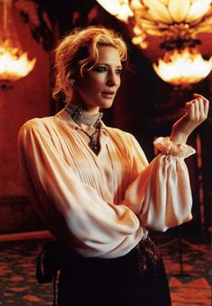 Cate Blanchett - one of my all time favorites women