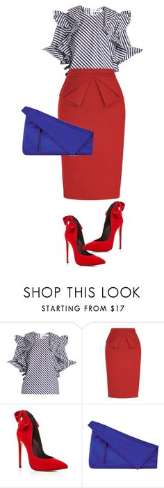 """oh my"" by loversin ❤ liked on Polyvore featuring MSGM, Aleksander Siradekian and Diane Von Furstenberg"