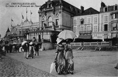 Balbec: Proust visited Trouville from 1891-1894, before discovering Cabourg's Grand Hotel.
