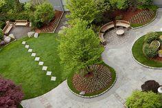 Meridien rooftop garden