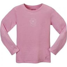 Review Life is good Crusher Longsleeve (Little Kids/Big Kids) Good Natured Flower on Perfect Pink. . http://www.amazon.com/exec/obidos/ASIN/B007FS9S58/tipscomputer-20