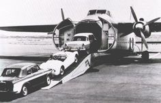 Pompous or pimpish? The Bristol Freighter airplane once allowed unusual carry-on luggage: Your car - Core77