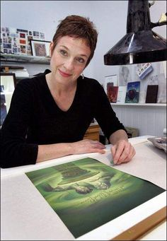 Mary Grandpre - The artist for all of the Harry Potter books! :)