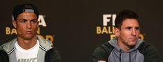 Lionel Messi y Cristiano Ronaldo finalistas a futbolista del año de la UEFA