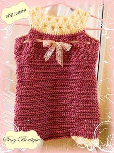 cute crochet romper, etsy