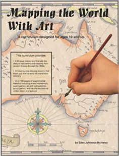Mapping with World with Art - art curriculum that mixes in history and geography, drawing lessons Geography Map, Teaching Geography, World Geography, Teaching History, Teaching Art, Teaching Ideas, Curriculum Design, Homeschool Curriculum, Homeschooling