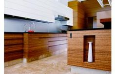 "Innovative and ""bright green,"" Kitchen of the Year Award  K+BB awards ""Kitchen of the Year"" for innovative and stunning kitchen design by Bright Wood Works, Inc. featuring Plyboo Durapalm plywood cabinetry."