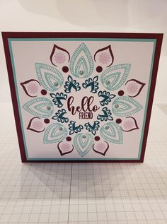Stamp Tv, Unity Stamps, Card Companies, Pretty Cards, Stamping Up, Homemade Cards, Making Ideas, Design Projects, Card Making
