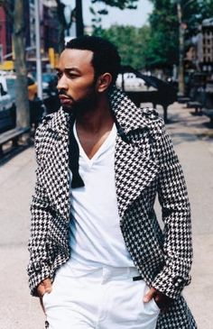 John Legend The trench coat though!