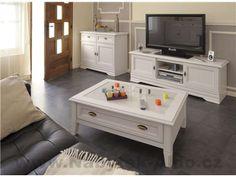 Interiér bytu v bielom rustikálnom štýle | Nábytok ALDO