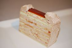 Dobosh Torte www. Piece Of Cakes, Frostings, Vanilla Cake, Snacks, Dinner, Cooking, Desserts, Recipes, Food