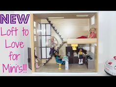 Loft to Love Dollhouse Review - YouTube