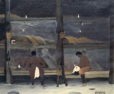 The Barracks by Horace Pippin