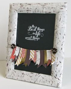 Stampin' Up! - Best Things in Life frame