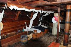 Jamestown - below deck