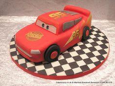 Lightning Mcqueen Cake. Disney Cars Lightning McQueen novelty shaped cake