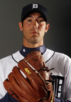 LAKELAND, FL - FEBRUARY 28:  Rick Porcello #48 of the Detroit Tigers poses for a portrait on February 28, 2012 at Joker Marchant Staduim in Lakeland, Florida.  (Photo by Elsa/Getty Images