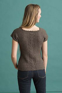 Sensible Cardigan by Kristen TenDyke  Knit with Himalayan Trail yarn from Bijou Basin Ranch  Pattern Appears in New-Sew Knits