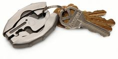 9-In-1 Multi-Tool Key Ring From Think Geek - Unfinished Man