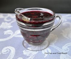 Hot Eats and Cool Reads: Mixed Berry Pancake Syrup Recipe