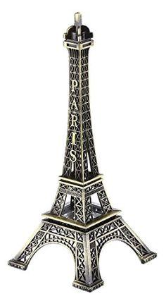 SiCoHome eiffel tower decor Figurine…