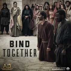 Bound by their love for Jesus, Peter and John stand firm under temple persecution on A.D. The Bible Continues. | A.D. The Series