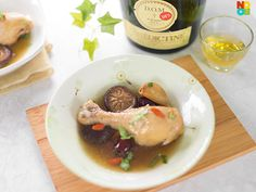 Delicious and nourishing recipe for steamed chicken with D.M liquor. Steam Recipes, Wine Recipes, Asian Recipes, Soup Recipes, Chicken Recipes, Cooking Recipes, Three Cup Chicken, Confinement Food, Toddler Meals