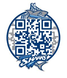 #QRcodes used by River Sharks in there campaign