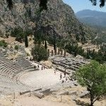 Visiting Delphi - We made it to the center of the ancient World - Sailing Britican