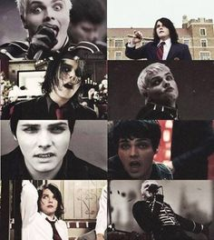 Oh Gerard and those sassy facial expressions