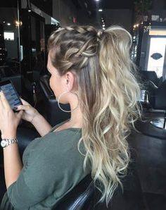 Braided Half up Ponytail Hairstyles