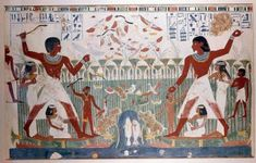 The rich ancient Egyptians' ate meat - (beef, goat, mutton), fish from the Nile (perch, catfish, mullet) or poultry (goose, pigeon, duck, heron, crane) on a daily basis. Poor Egyptians only ate meat on special occasions but ate fish and poultry more often. Ancient Egyptians hunted for fish and birds in reeds that grew on the banks of the Nile. Meat was roasted or boiled, flavored with salt, pepper, cumin, coriander, sesame, dill and fennel. Preserved meat by salting or drying.