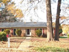 3 bedroom 2 bath brick home in popular Devenger Place.  Very well maintained and move in ready.  As you enter the foyer to the right you will find a spacious den area with lots of light that leads to the dining area. The kitchen features a breakfast nook and beautiful wood cabinets.  In the large living room area you will have a beautiful stone wood burning fireplace and vaulted ceilings.  The living room leads out to the patio and large back yard with outbuilding.  The neighborhood has a…
