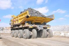 Chinese Sanjiang , dump truck with a load capacity of 220 tons not to be out done mista Wong coming longer! Dump Trucks, Cool Trucks, Big Trucks, Huge Truck, Heavy Truck, Heavy Construction Equipment, Heavy Equipment, Construction Machines, Diesel Trucks
