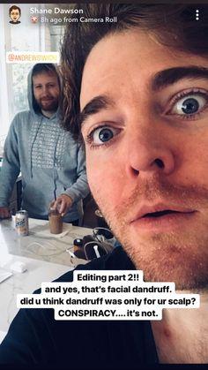 Shane Dawson Memes, Shane And Ryland, Vlog Squad, Bucky Barnes, Summer Recipes, Youtubers, Hilarious, Funny