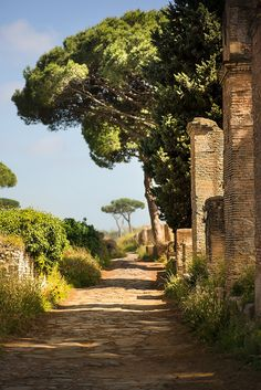 Ostia Antica, Italy ... Not only one can eat Italy, but one also can devour Italy with one's eyes and Soul ...