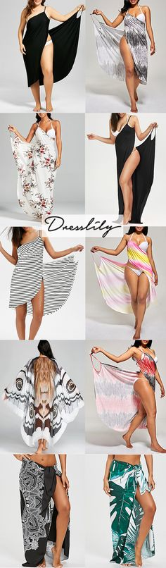 Which one do you like best?Hit the beach in a trendy cover-up or beach dress from Dresslily today!FREE SHHIPPING WORLDWIDE!#coverup$coverupdress