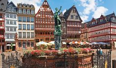 Frankfurt is a buzzing commercial hub with plenty of luxurious attractions and activities. For the traveler who wishes to explore the rustic Frankfurt within a decent budget, here's our list of free things to do in Frankfurt. Explore Römerberg   Image Source viatopbusinessclass  The historic town center of Frankfurt dates