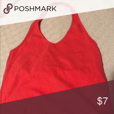Old Navy Halter Top Coral Old Navy Halter Top size M Old Navy Tops Tank Tops