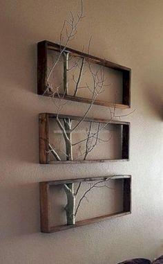 40 einfache DIY Holzprojekte Ideen für Anfänger 31 Indoor Woodworking Projects to Do This Winter Retro Home Decor, Unique Home Decor, Cheap Home Decor, Home Decor Items, Creative Decor, Creative Ideas, Decor Vintage, Vintage Diy, Creative Crafts