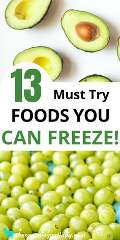 Healthy Freezer Meals, Freezer Food, Healthy Food, Healthy Eating, Fruits And Veggies, Freezing Vegetables, Freezing Fruit, Freeze Drying Food, Dehydrated Food